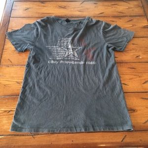 Vintage 90s Obey Graphic Tee
